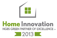 Homes By Dickerson Named 2013 NGBS Green Partner in Excellence