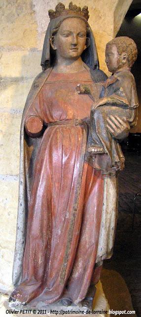 Vierge à l'Enfant. Fin XIIIe siècle.