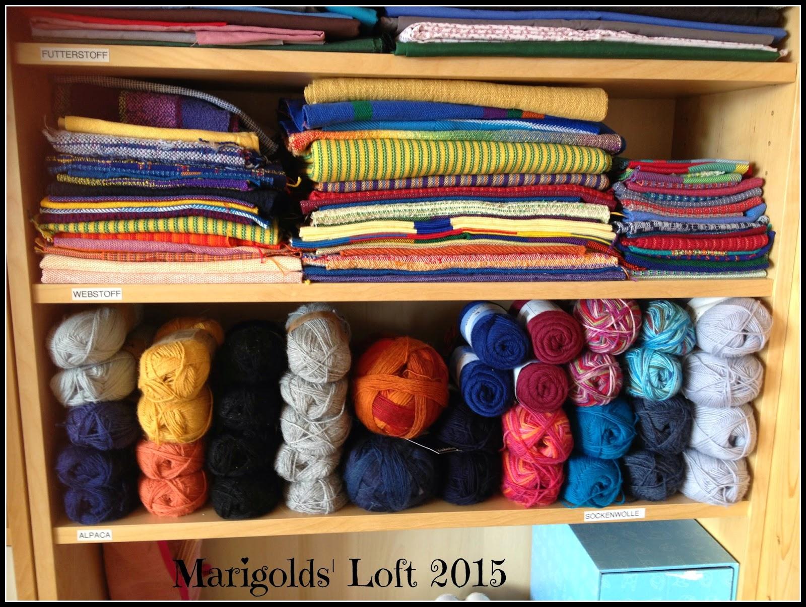 Weaving cloth and knitting yarn