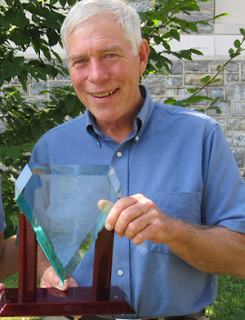 Dr. Jeffrey Kirwan, professor emeritus at Virginia Tech and resident of Blacksburg, has been awarded the Virginia Department of Forestry's highest civilian honor – the Crown Award.