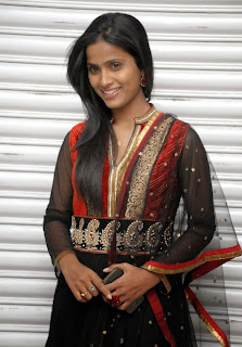 Prasanthi Latest Black Dress Photos