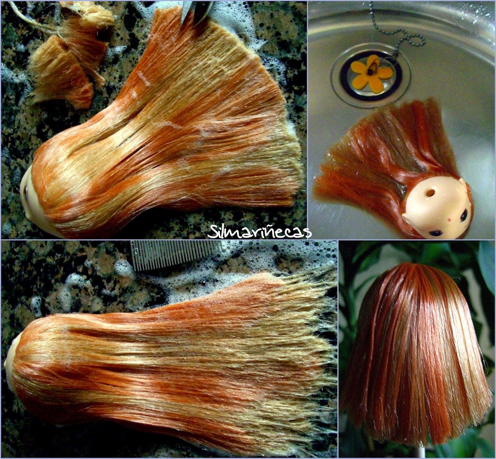 cómo arreglar el pelo de las muñecas