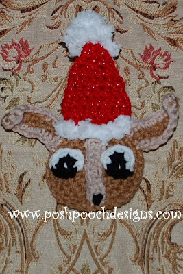 Chihuahua Beanie Hat Crochet Pattern - For Humans