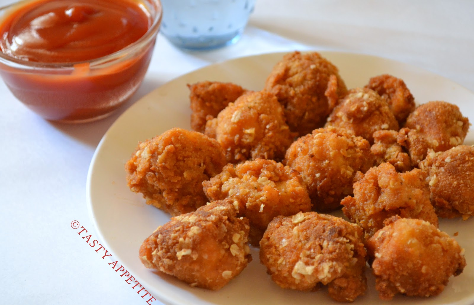 How to make Popcorn Chicken at Home / Easy Step-by-Step Pictures: