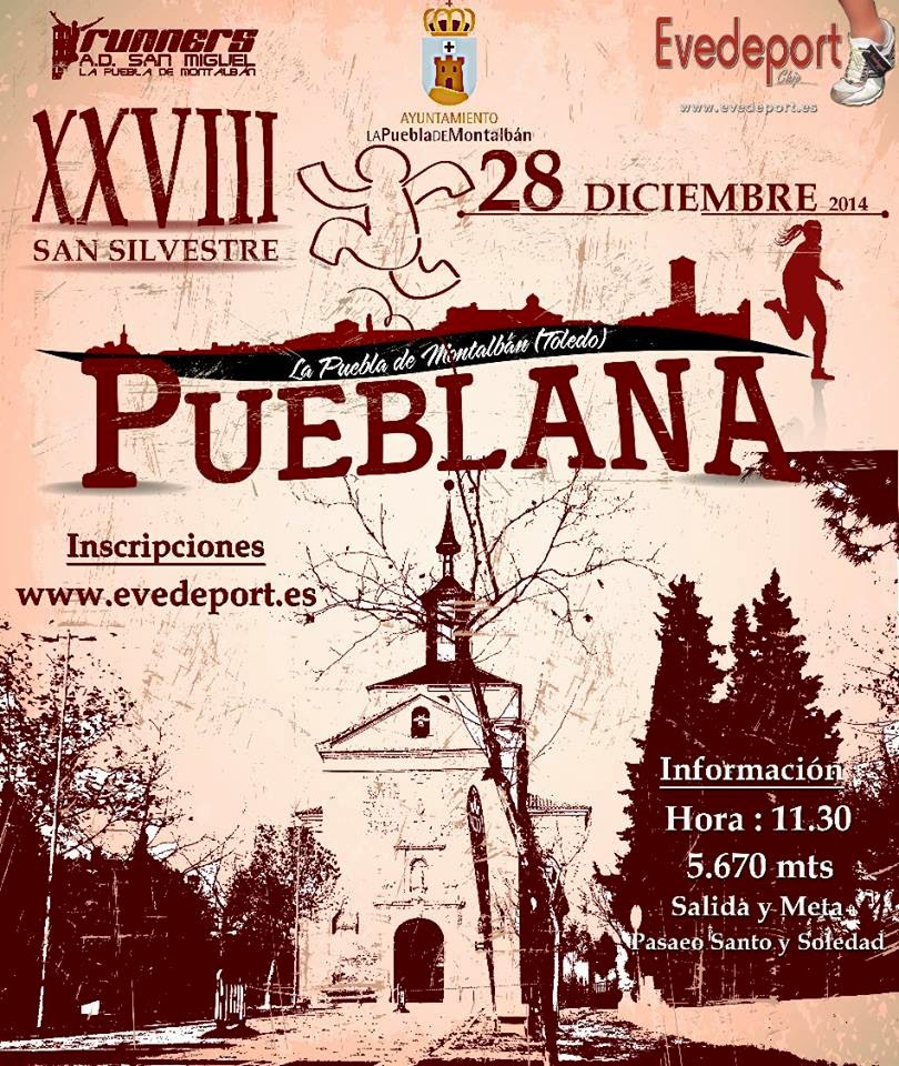 XVIIII San silvestre de La Puebla de Montalbán