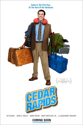 Watch Cedar Rapids 2011 BRRip Hollywood Movie Online | Cedar Rapids 2011 Hollywood Movie Poster