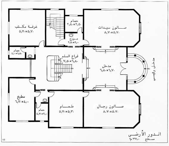 مخططات منازل الطابق الارضي