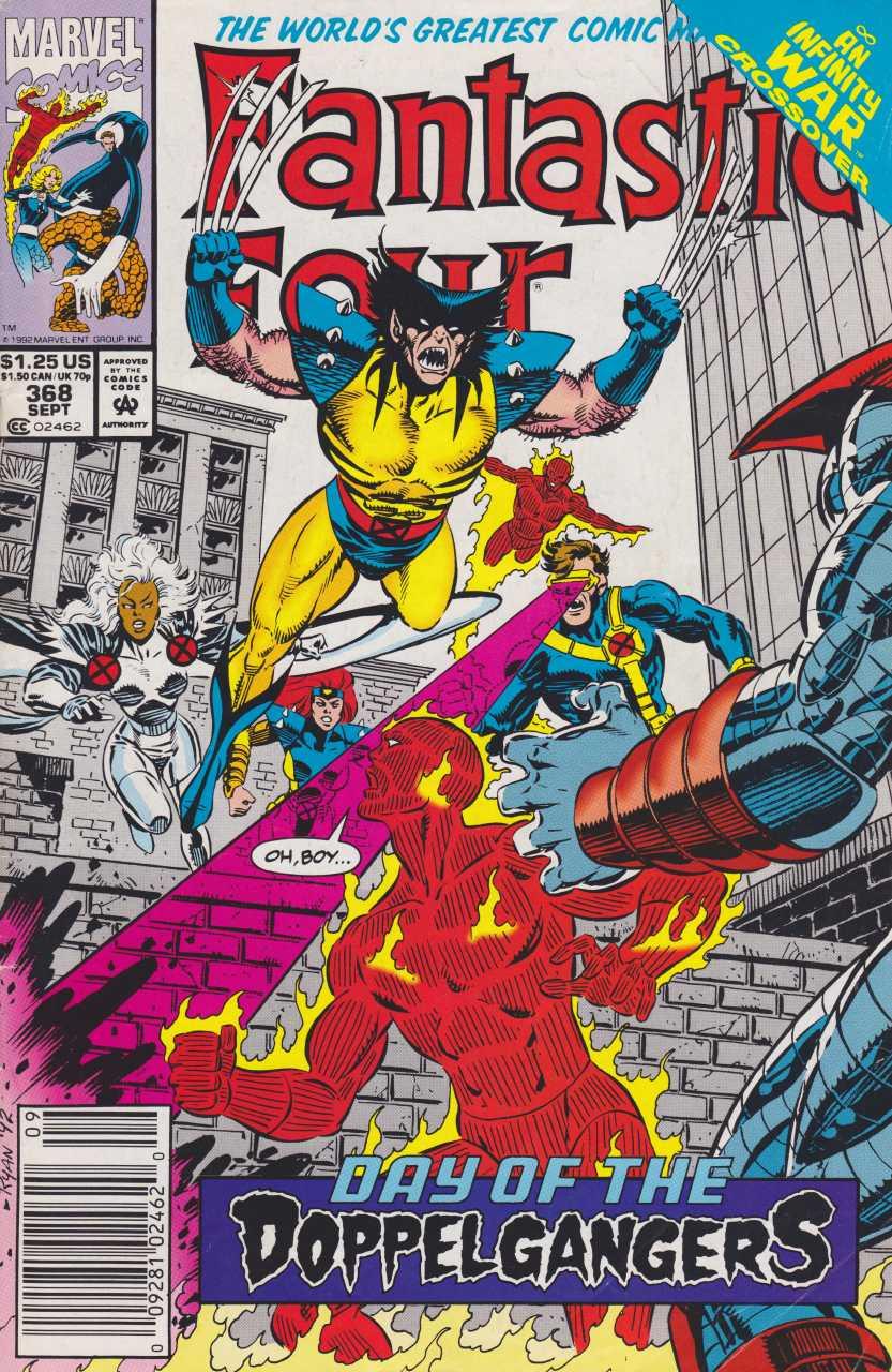 Fantastic Four 368 Doppelgangers