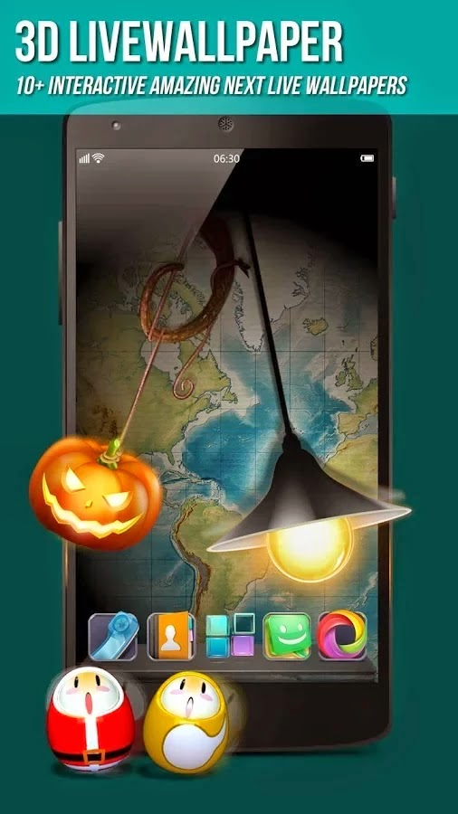 Next Launcher 3D Shell v3.17 build 139 Patched