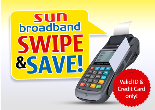 SECURITY BANK: SUN CELLULAR POCKET WIFI FREE GADGETS