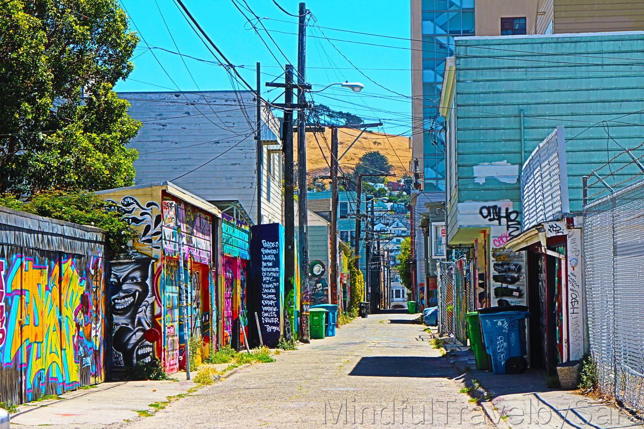 Arte callejero en el corazón de San Francisco