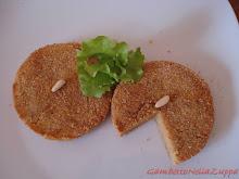 Piattellini impanati con cipolle di Tropea