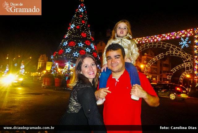 História dos Leitores: Carolina e família em Gramado