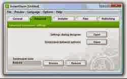 Free Download InstantStorm 2.0.1 Flash Screensavers Creator