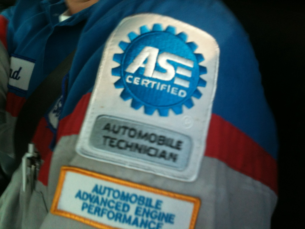 Gines auto service blog october 2011 youve seen the emblem on our uniforms and in our shop but what exactly is ase certified and what is the difference between a regular automobile xflitez Image collections