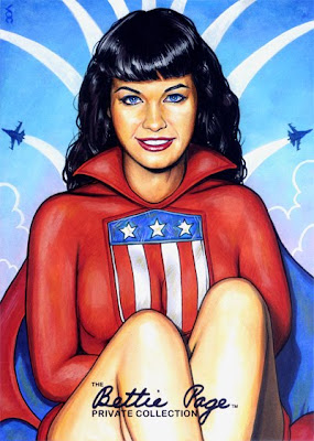 Bettie Page as Miss America