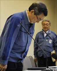 Tepco president quits as firm reports $15billion  loss