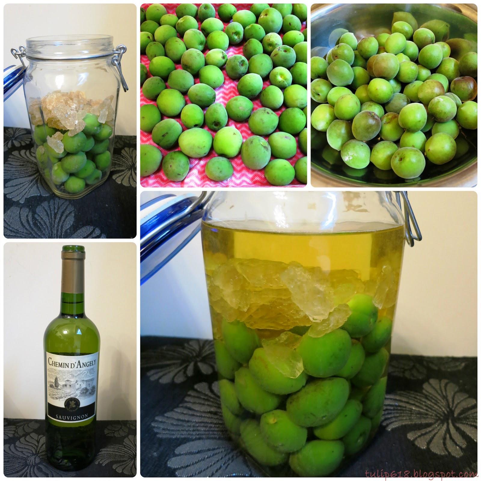 Homemade plum wine 43