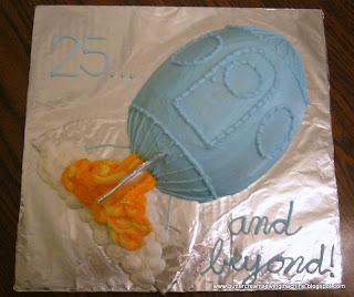 Rocket Ship Cake Pan