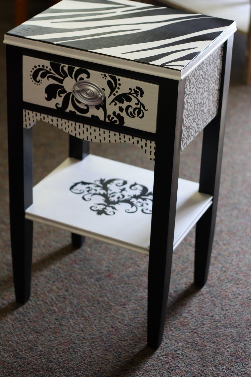 jjsparkles custom black and white dresser. Black Bedroom Furniture Sets. Home Design Ideas