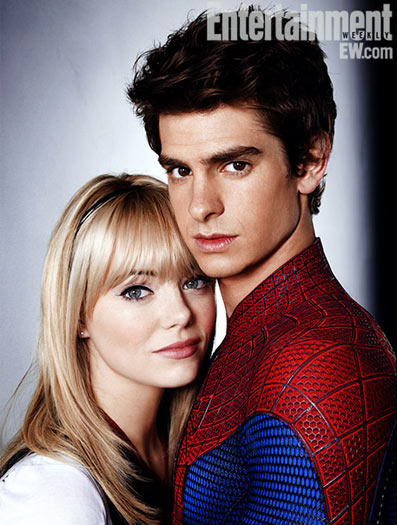 O Espetacular Homem-Aranha - Andrew Garfield e Emma Stone