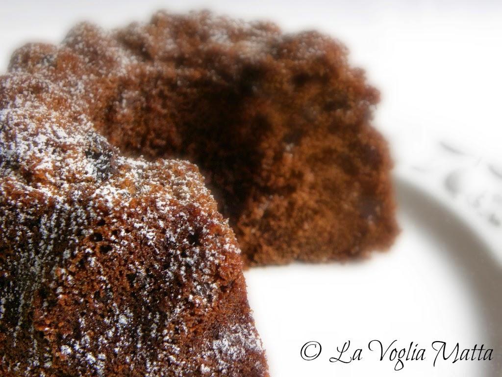 ciambella di cioccolato e vino Terrano