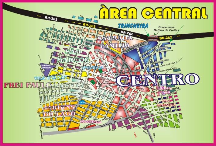 Nova Serrana * Àrea Central