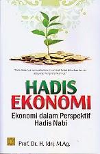 toko buku rahma: buku HADIS EKONOMI, pengarang idri, penerbit kencana