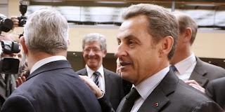 La première visite de Nicolas Sarkozy en tant que nouveau président du parti