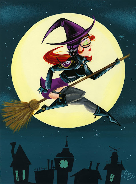 cartoon witch