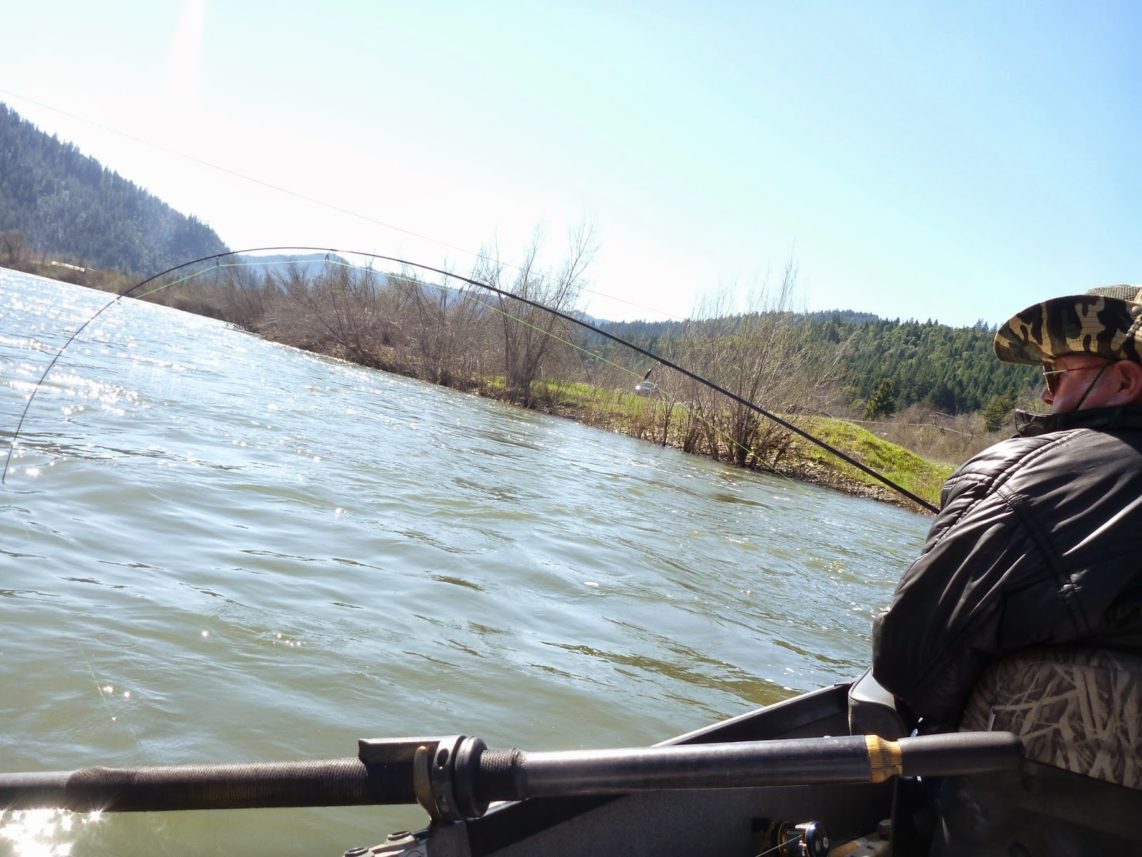Klamath River Fishing.