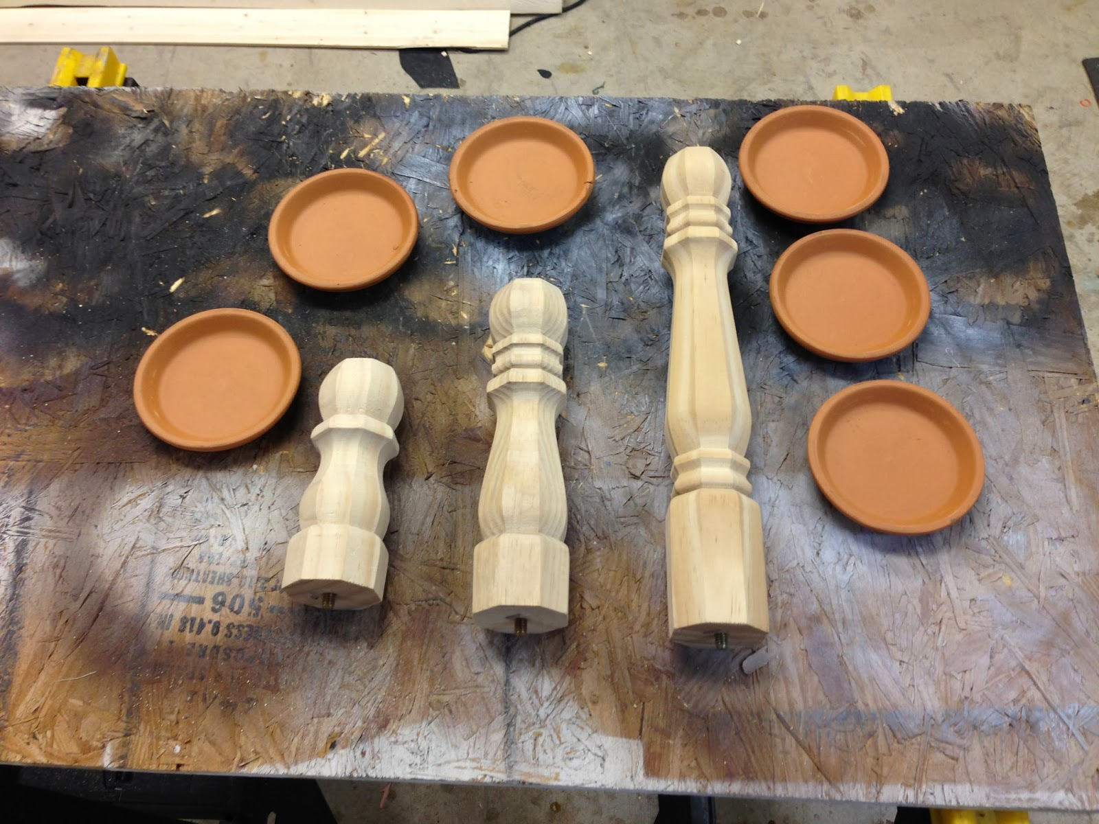 Wilker Dos DIY Candle Stick Holders