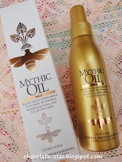 Chocolate Cats LOreal Professional Mythic Oil Milk Review