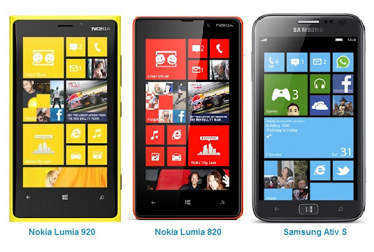 Comparison of New Windows Phone 8 | Nokia and Samsung