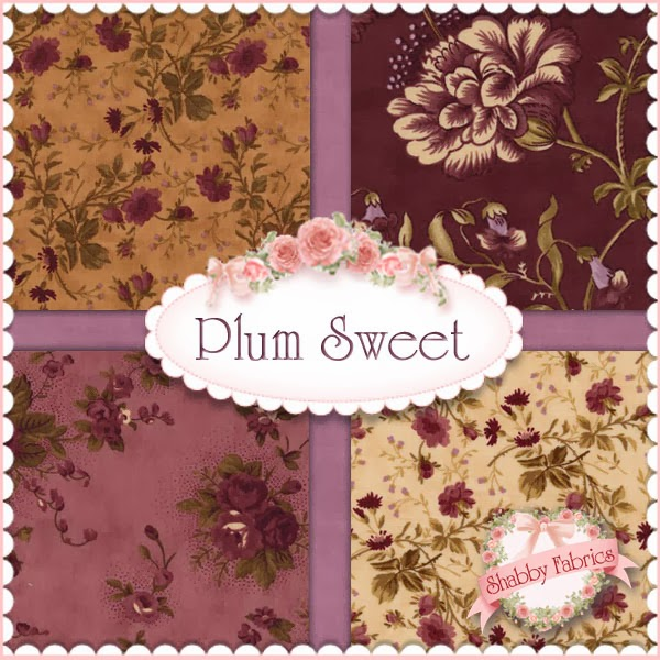 Plum Sweet by Blackbird Designs for Moda Fabrics