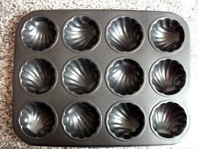 kagylóformájú muffin sütőforma