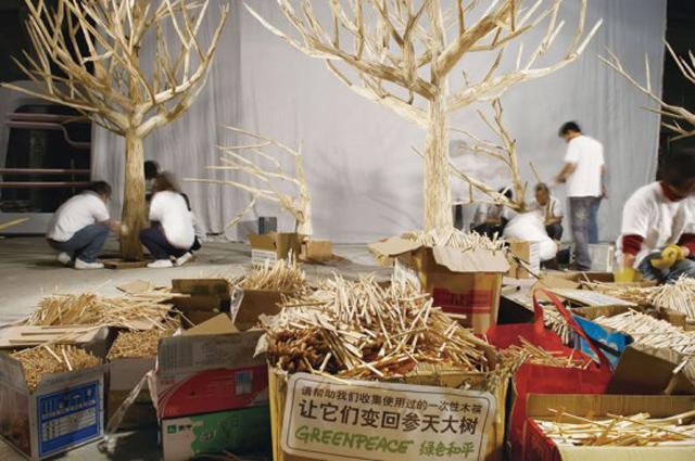 80.000 hashis são reciclados e usados para