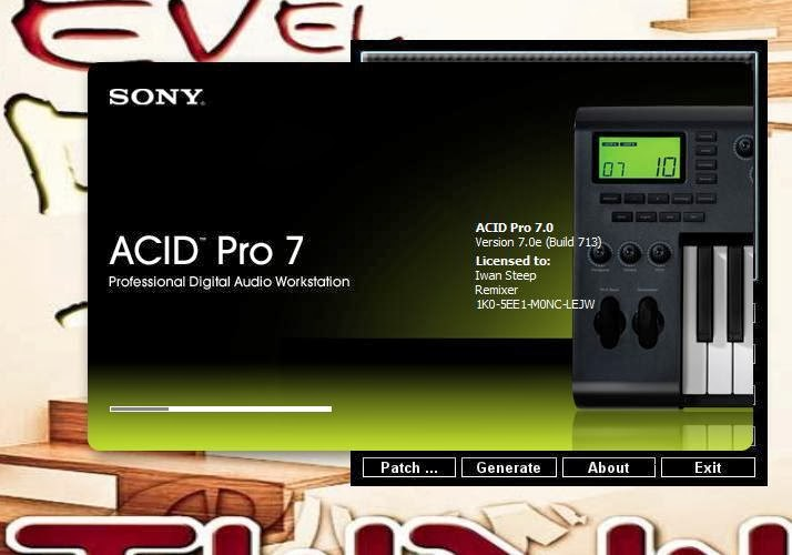 Acid pro 7 serial numbers are Roxio toast 9 titanium serial number micr