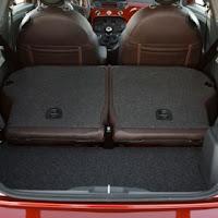 Fiat 500 Trunk bigger