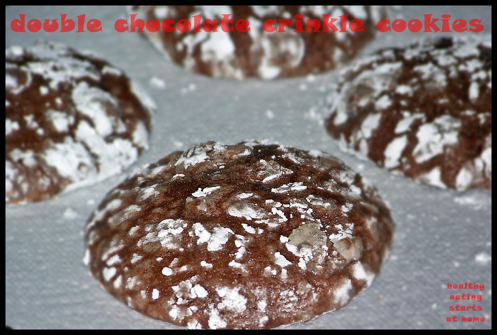 how to make chocolate crinkles