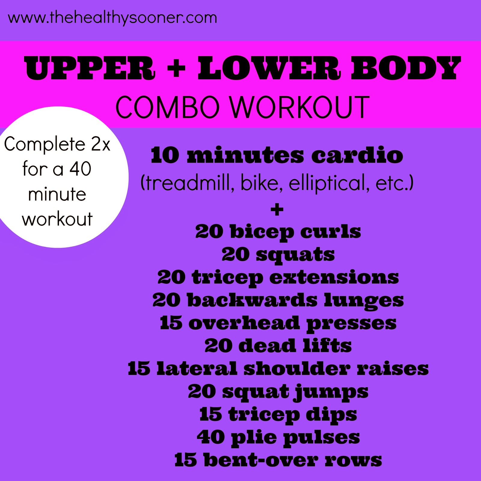 This Workout Could Be Easily Tailored To Any Ability Level Just Up The Intensity Of Cardio And Increase Your Weights For More A Challenge