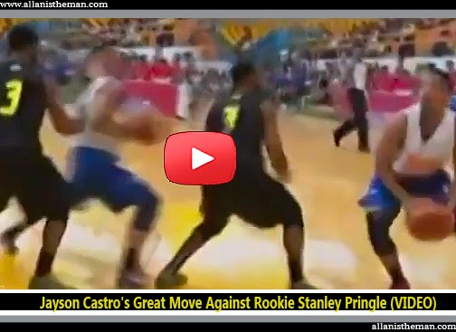 Jayson Castro's Great Move Against Rookie Stanley Pringle (VIDEO)