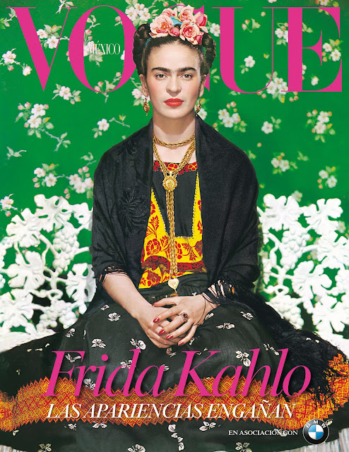 Frida Kahlo Flower Crown