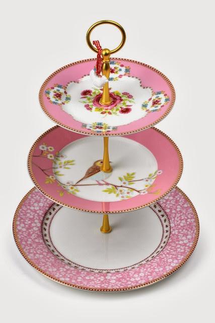 PiP Cake Stand Pink © PIP Studio