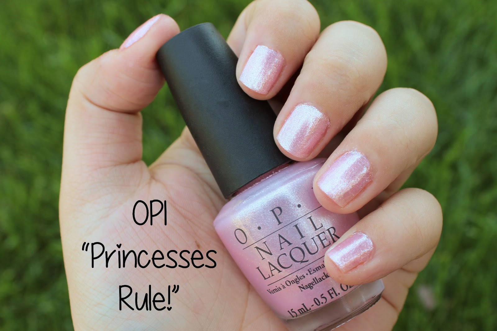 Opi Princesses Rule Swatch Review