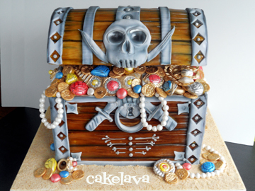 Chest Board Game Cake Ideas