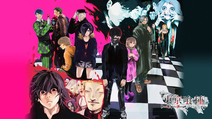 tokyo ghoul characters anime