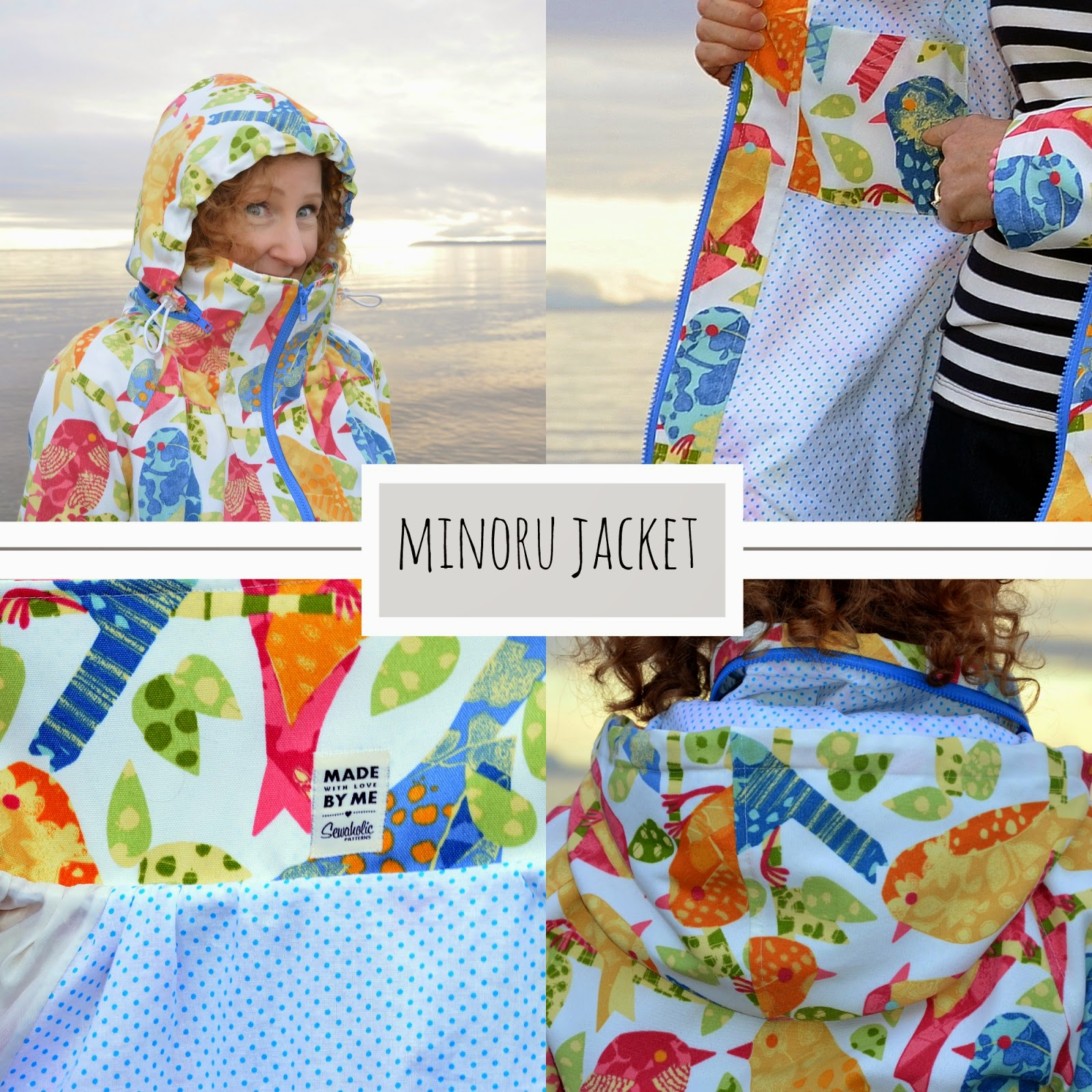 A Colourful Canvas, Sewaholic MInoru Jacket, DYT Type One