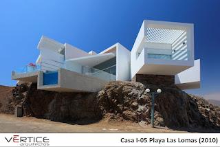 casa minimalista en la playa