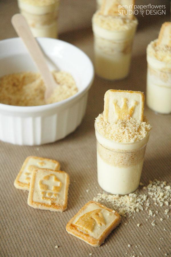 Pen N' Paper Flowers: SUGAR | Mini Banana Pudding Dessert Shooters